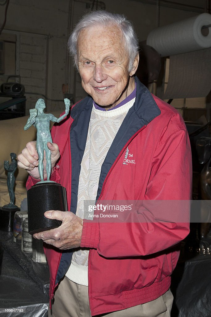 Actor Paul Napier attend the 19th Annual SAG Awards 2013 SAG Actor Pouring at American Fine Arts Foundry on January 17, 2013 in Burbank, California.