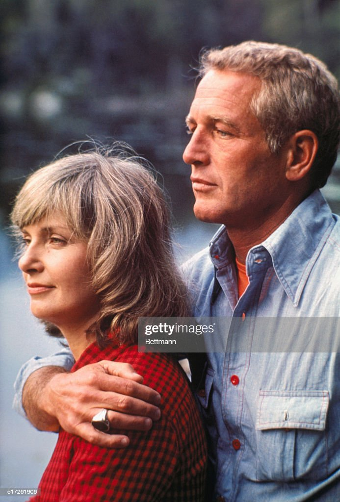 Paul Newman and Joanne Woodward : ニュース写真