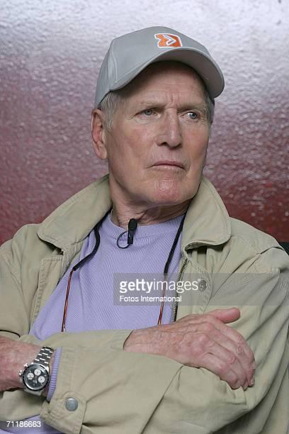 Actor Paul Newman talks on May 26, 2006 in Greensboro, North Carolina.