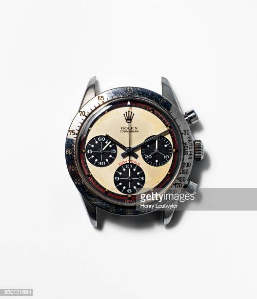 Actor Paul Newman's Rolex Daytona reference 6239 watch is photographed for Wall Street Journal on April 18 2017 in New York City PUBLISHED IMAGE