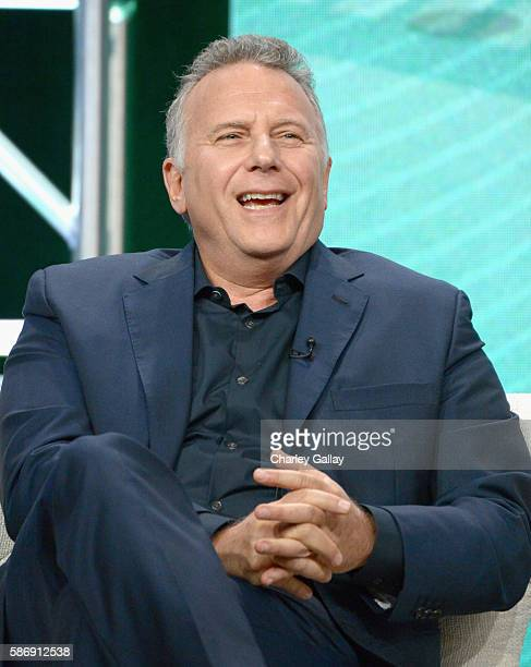Actor Paul Reiser attends the Amazon 2016 Summer TCA Press Tour at The Beverly Hilton Hotel on August 7 2016 in Beverly Hills California