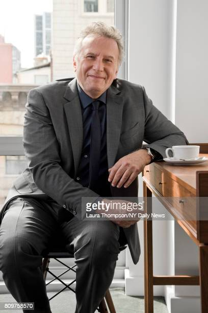 Actor Paul Reiser photographed for NY Daily News on April 27 in New York City
