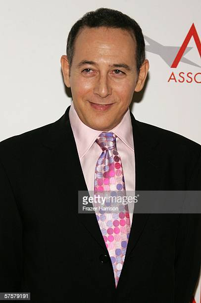 Actor Paul Reubens arrives at AFI Associates luncheon honoring Hollywood's Arquette family with the 6th Annual Platinum Circle Award held at the...