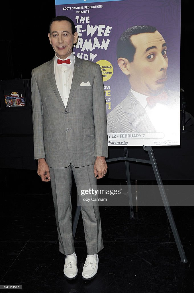 Pee-Wee Herman Press Conference