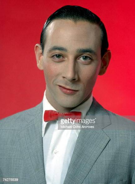 Black Label Price >> Actor Paul Reubens poses for a portrait dressed as his ...