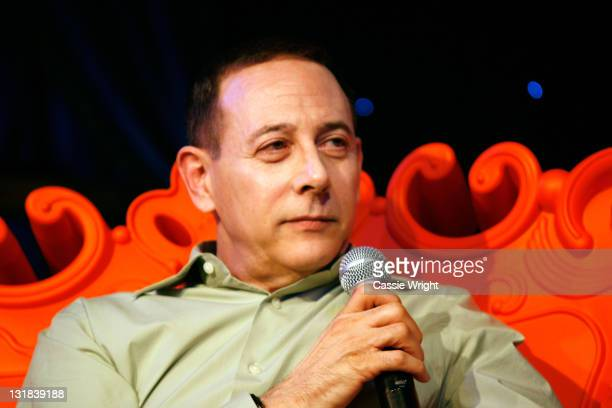 Actor Paul Reubens speaks onstage at the 2011 SXSW Music Film Interactive Festival Comedy DeathRay Radio With Scott Aukerman Live Podcast Taping at...