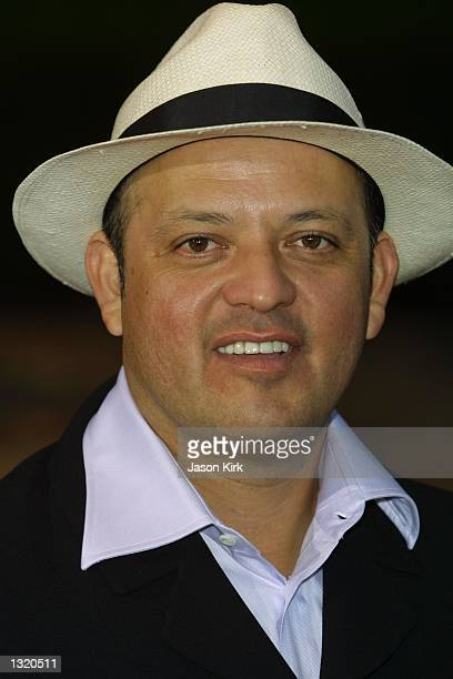 """Actor Paul Rodriguez arrives at the world premiere of the film """"Lara Croft: Tomb Raider"""" June 11, 2001 in Westwood, CA."""