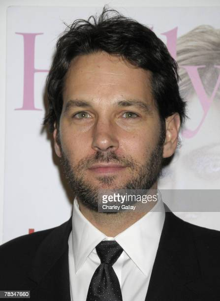 Actor Paul Rudd arrives at the 7th Annual Breakthrough Of The Year Awards at the Music Box at the Henry Fonda Theater on December 9 2007 in Los...