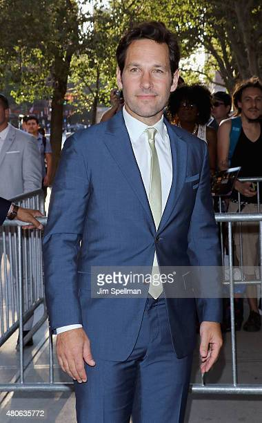 Actor Paul Rudd attends a Marvel's screening of AntMan hosted by The Cinema Society and Audi on July 13 2015 in New York City