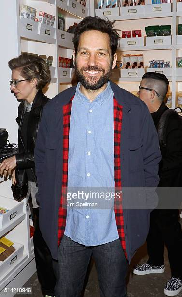 Actor Paul Rudd attends Roadside Attractions with The Cinema Society Belvedere Vodka host The New York premiere of 'Hello My Name is Doris' at...