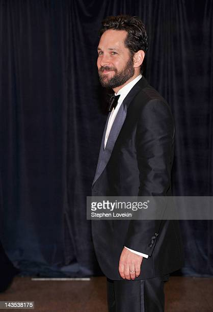 Actor Paul Rudd attends the 98th Annual White House Correspondents' Association Dinner at the Washington Hilton on April 28 2012 in Washington DC