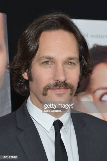 Actor Paul Rudd attends the 'Admission' New York Premiere at AMC Loews Lincoln Square 13 on March 5 2013 in New York City