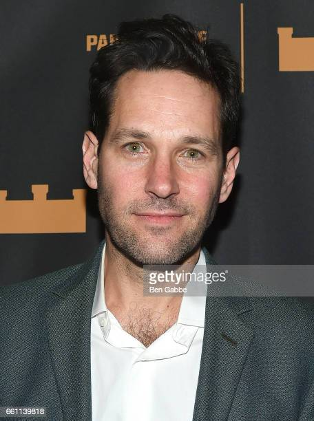 Actor Paul Rudd attends 'The Hairy Ape's' Opening Night Party at the Park Avenue Armory on March 30 2017 in New York City