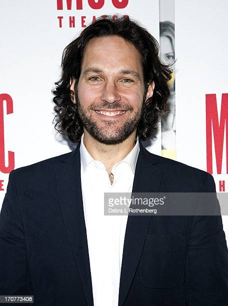Actor Paul Rudd attends The Mercy Seat Benefit Reading at Lucille Lortel Theatre on June 17 2013 in New York City