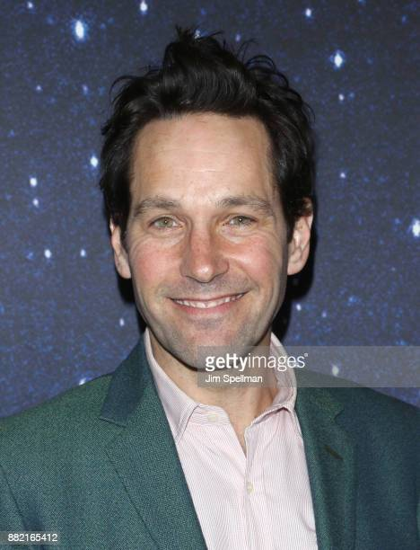 Actor Paul Rudd attends the 'Meteor Shower' Broadway opening night at the Booth Theatre on November 29 2017 in New York City