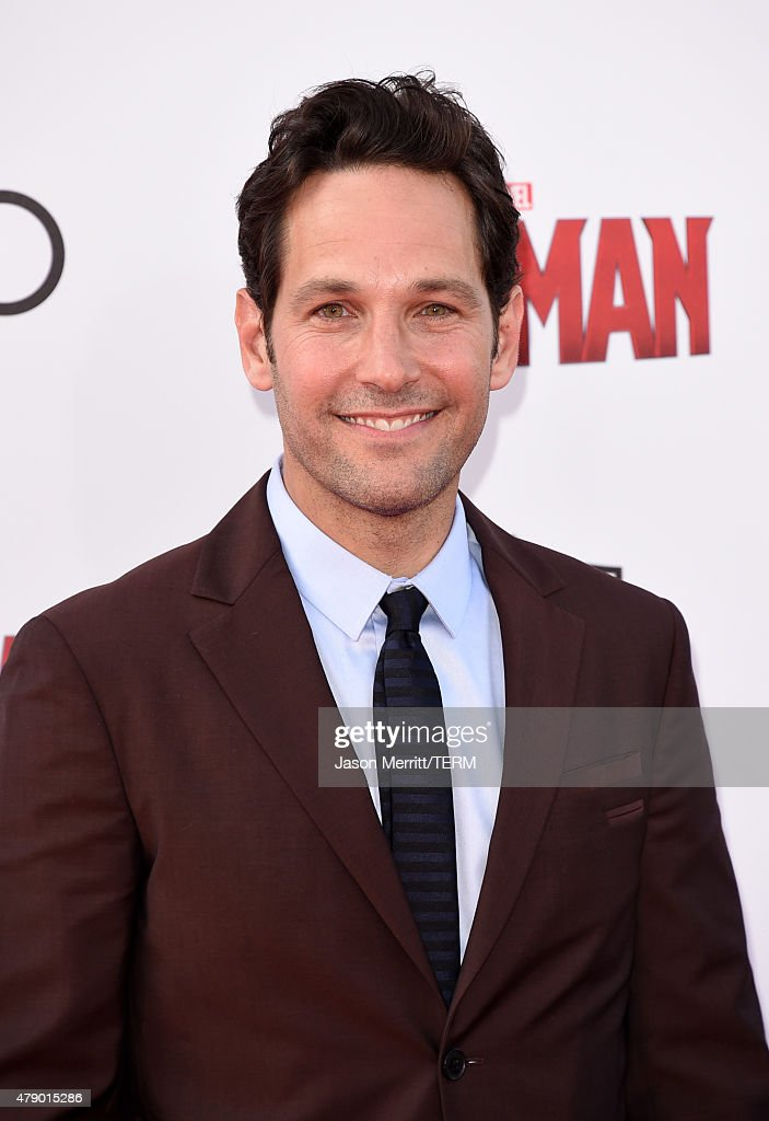 Actor Paul Rudd attends the premiere of Marvel's 'Ant-Man' at the Dolby Theatre on June 29, 2015 in Hollywood, California.