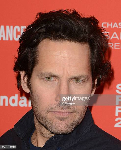 Actor Paul Rudd attends the The Fundamentals of Caring Premiere during the 2016 Sundance Film Festival at Eccles Theater on January 29 2016 in Park...