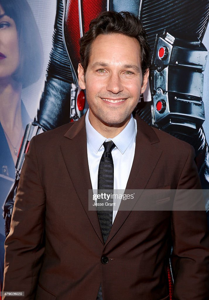 Actor Paul Rudd attends the world premiere of Marvel's 'Ant-Man' at The Dolby Theatre on June 29, 2015 in Los Angeles, California.