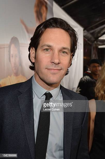"""Actor Paul Rudd attends """"This Is 40"""" - Los Angeles Premiere - Red Carpet at Grauman's Chinese Theatre on December 12, 2012 in Hollywood, California."""