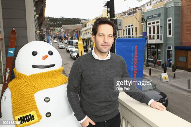 Actor Paul Rudd from 'The Catcher Was A Spy' attends The IMDb Studio at The Sundance Film Festival on January 19 2018 in Park City Utah