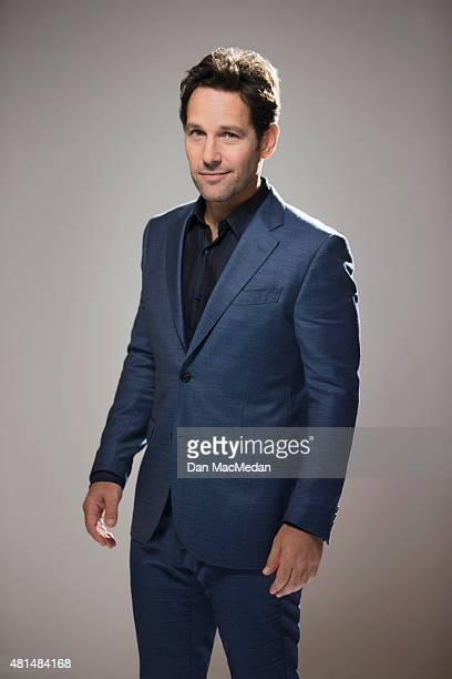 Actor Paul Rudd is photographed for USA Today on June 27 2015 in Burbank California