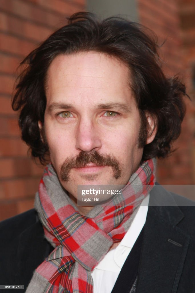 Actor Paul Rudd visits 'The Daily Show with Jon Stewart' at The Daily Show studios on March 4, 2013 in New York City.
