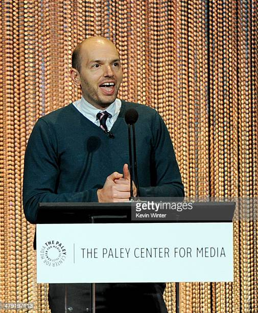 """Actor Paul Scheer appears onstage at The Paley Center Media's PaleyFest 2014 Honoring """"Lost"""" 10th Anniversary Reunion at the Dolby Theatre on March..."""