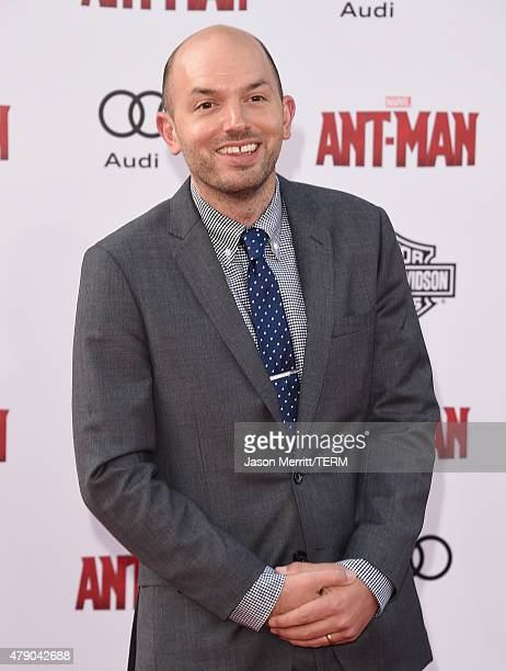 Actor Paul Scheer arrives at the Los Angeles Premiere of Marvel Studios 'AntMan' at Dolby Theatre on June 29 2015 in Hollywood California