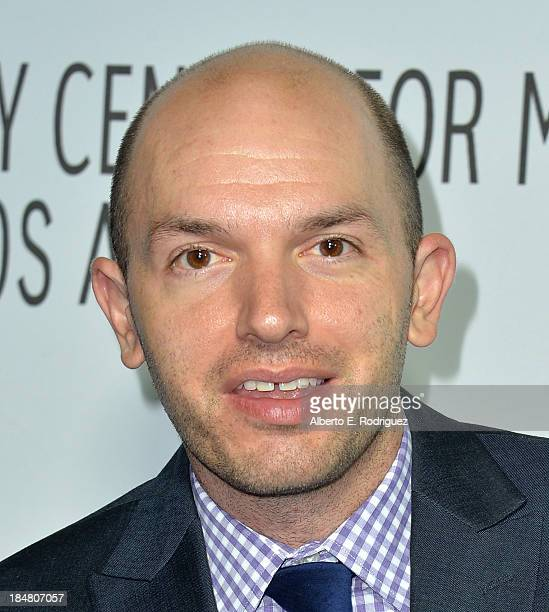 Actor Paul Scheer arrives at The Paley Center for Media's 2013 benefit gala honoring FX Networks with the Paley Prize for Innovation Excellence at...
