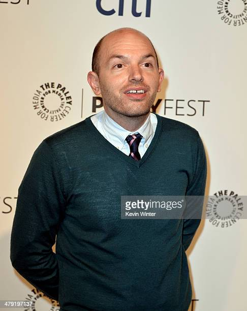 """Actor Paul Scheer arrives at The Paley Center Media's PaleyFest 2014 Honoring """"Lost"""" 10th Anniversary Reunion at the Dolby Theatre on March 16, 2014..."""