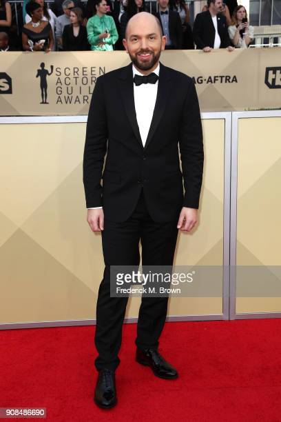 Actor Paul Scheer attends the 24th Annual Screen Actors Guild Awards at The Shrine Auditorium on January 21 2018 in Los Angeles California 27522_017