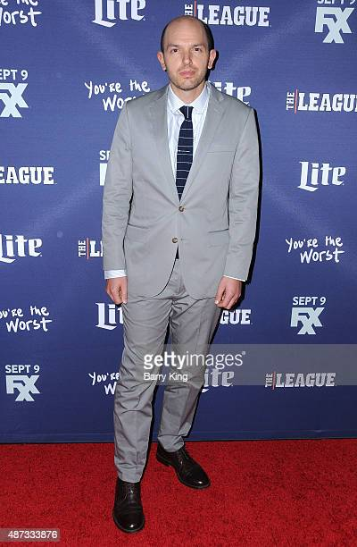 Actor Paul Scheer attends the premiere of FXX's 'The League' final season and 'You're The Worst' 2nd season at the Regency Bruin Theater on September...