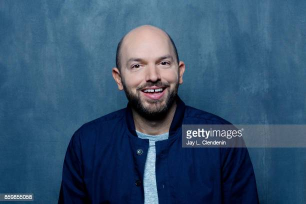 Actor Paul Scheer from the film The Disaster Artist poses for a portrait at the 2017 Toronto International Film Festival for Los Angeles Times on...