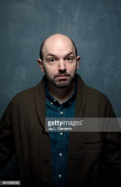 Actor Paul Scheer from the television show Playdates is photographed at the 2017 Sundance Film Festival for Los Angeles Times on January 20 2017 in...