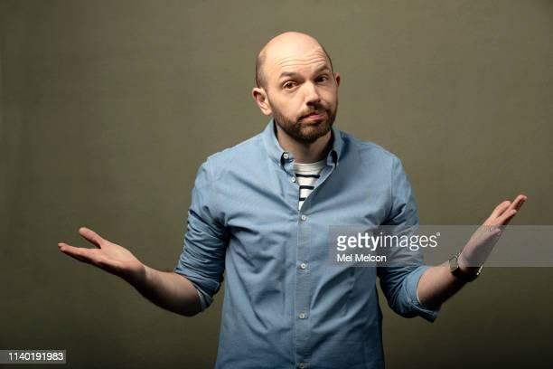 Actor Paul Scheer is photographed for Los Angeles Times on March 8 2019 in Los Angeles California PUBLISHED IMAGE CREDIT MUST READ Mel Melcon/Los...