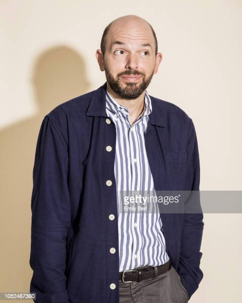 Actor Paul Scheer is photographed for New York Times on September 5 2018 in Los Angeles California