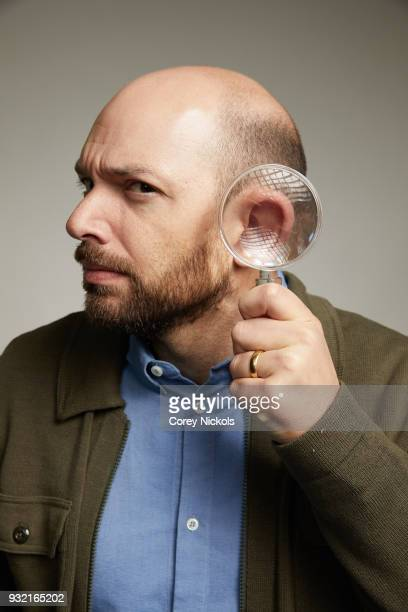 Actor Paul Scheer of the film Summer '03 poses for a portrait in the Getty Images Portrait Studio Powered by Pizza Hut at the 2018 SXSW Film Festival...