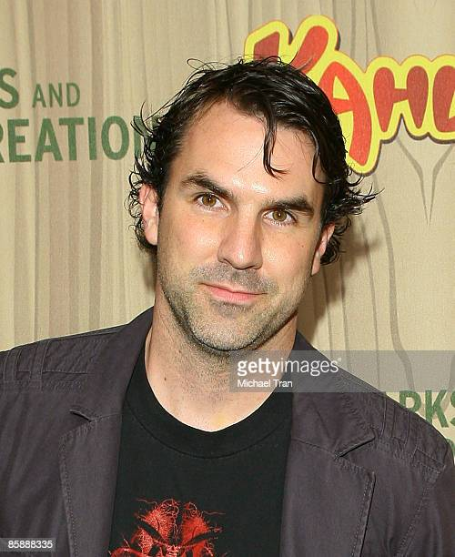 Actor Paul Schneider arrives to the Los Angeles premiere of NBC's new show Parks and Recreation held at MyHouse on April 9 2009 in Hollywood...