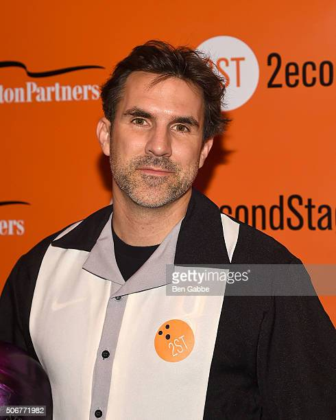 Actor Paul Schneider attends the 29th Annual AllStar Bowling Classic at Lucky Strike on January 25 2016 in New York City