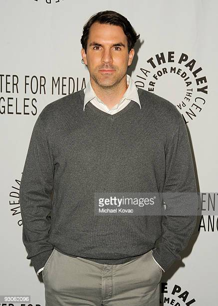 Actor Paul Schneider attends The Paley Center For Media Presents 'Inside Parks Recreation' at The Paley Center for Media on November 14 2009 in...