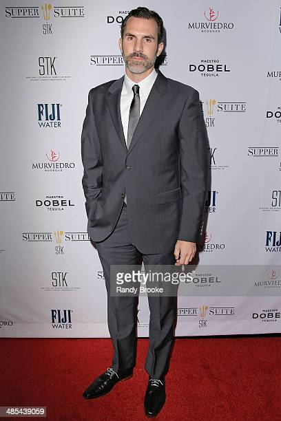 Actor Paul Schneider attends the Supper Suite By STK during the 2014 Tribeca Film Festival at STK on April 17 2014 in New York City