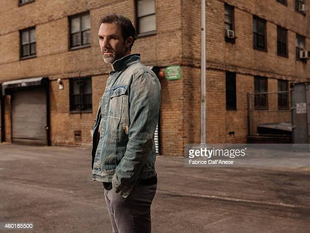 Actor Paul Schneider is photographed for Vanity Fair Italy on April 23 2014 in New York City