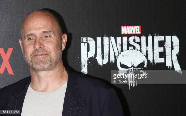 Actor Paul Schulze attends the 'Marvel's The Punisher' New York premiere at AMC Loews 34th Street 14 theater on November 6 2017 in New York City