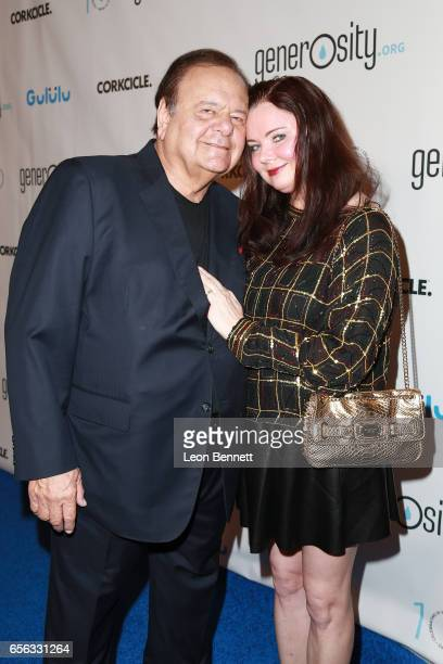 Actor Paul Sorvino and Dee Dee Sorvino arrives at the Generosityorg Fundraiser For World Water Day at the Montage Hotel on March 21 2017 in Beverly...