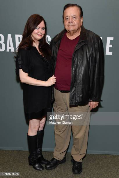 Actor Paul Sorvino and Dee Dee Sorvino pose for a photo together at a signing for their new book 'Pinot Pasta And Parties' at Barnes Noble Tribeca on...