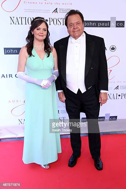 Actor Paul Sorvino and his wife Dee Dee attend the 2015 Toronto International Film Festival 'AMBI Gala' at Four Seasons Hotel on September 9 2015 in...