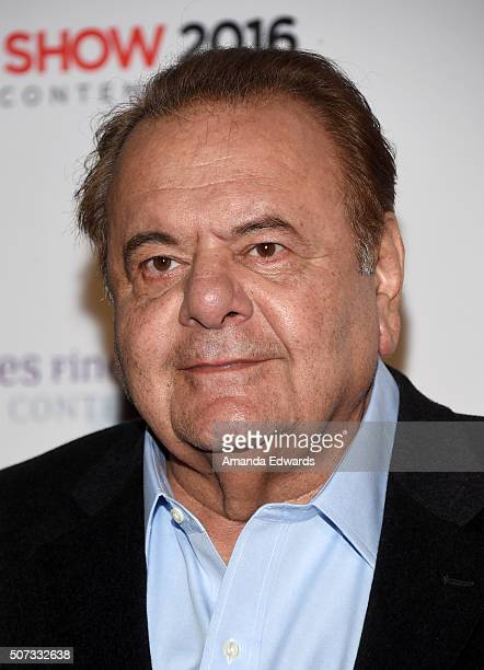 Actor Paul Sorvino arrives at the LA Art Show and Los Angeles Fine Art Show's 2016 Opening Night Premiere Party benefiting St Jude Children's...