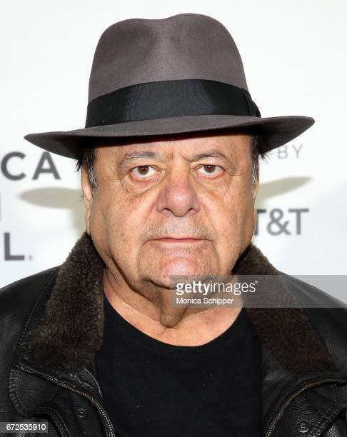 Actor Paul Sorvino attends the premiere of 'The Last Poker Game' during the 2017 Tribeca Film Festival at Regal Battery Park Cinemas on April 24 2017...
