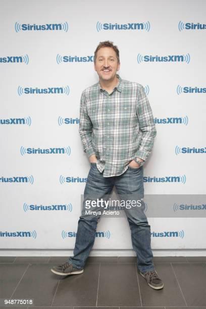 Actor Paul Soter visits SiriusXM Studios on April 19 2018 in New York City