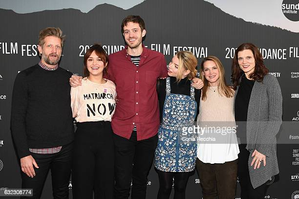 Actor Paul Sparks actress Olivia Cooke director/screenwriter Cory Finley actress Anya TaylorJoy actress Francie Swift and actress Kaili Vernoff...
